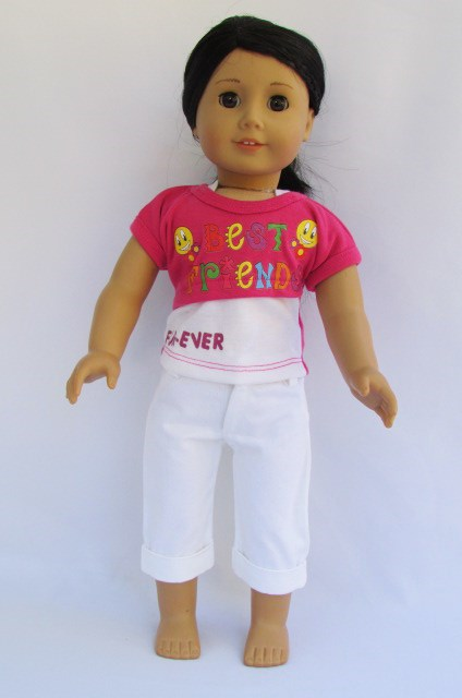 Capri outfit for american girl doll