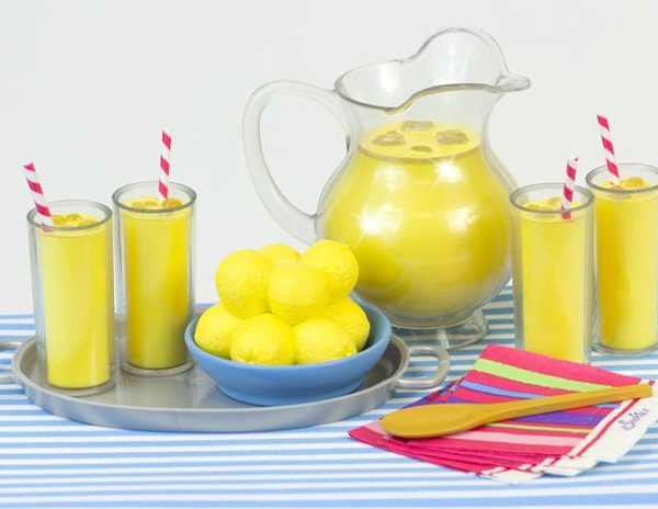 18 inch doll lemonade set 14.00