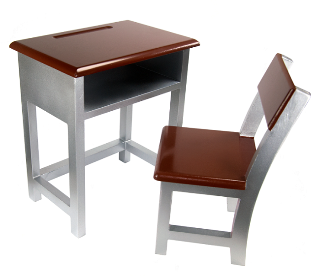 18 doll wooden student desk chair 32 00 wooden desk and chair for