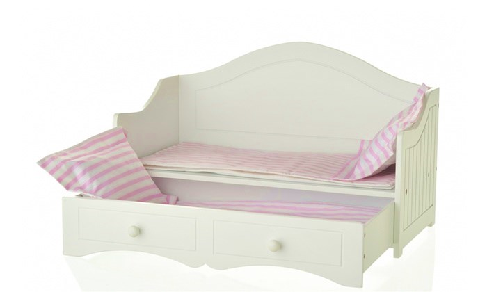 Doll Bed furthermore American Girl Doll Daybed further American Girl ...