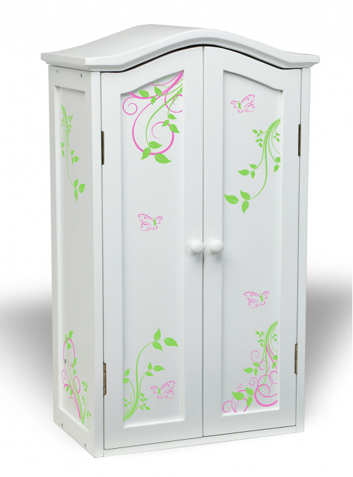 Armoire for 18 inch doll furniture