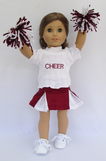 Custom Made Cheerleader Outfit