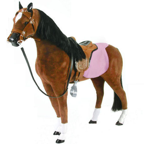 Horse Toys For Girls : Quot doll school supplies drawstring bag the boutique