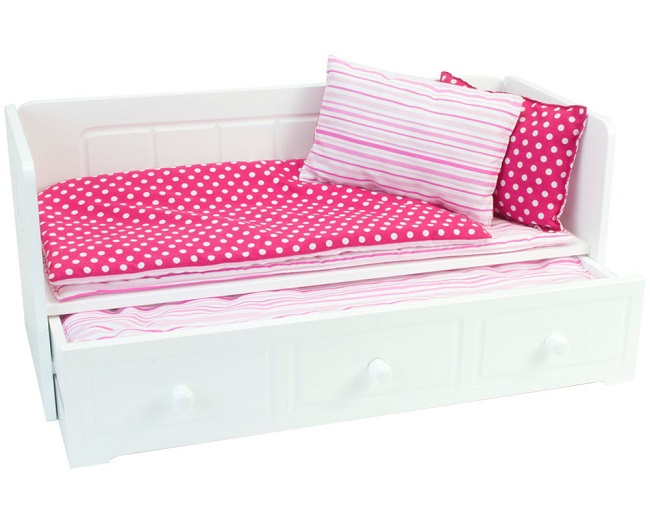 18 Inch Doll Trundle Day Bed The Doll Boutique