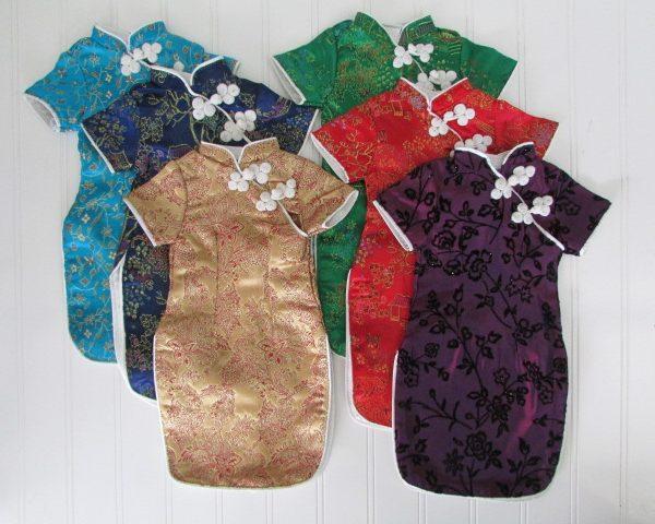 Asian costume dress for American girl dolls