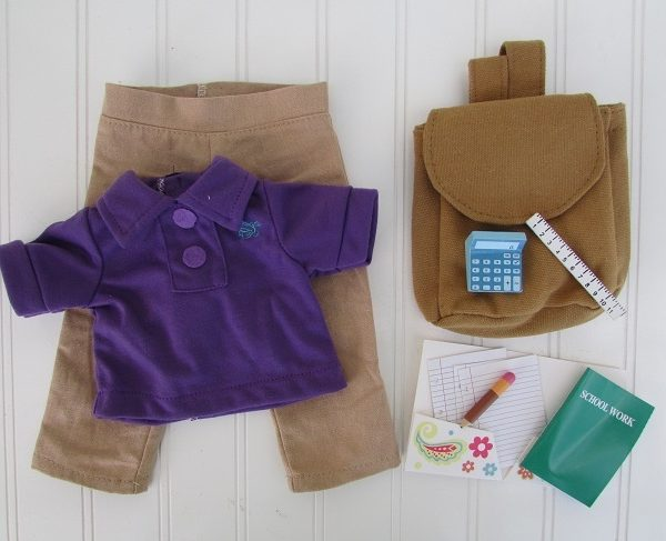 school outfit with accessories