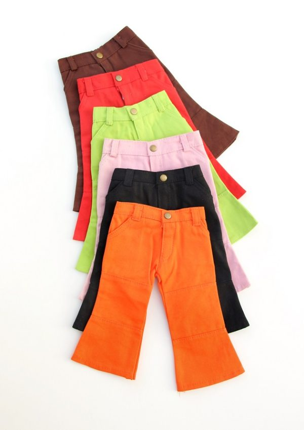 18 Inch Doll Colored Fashion Jeans