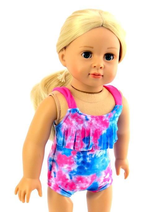 18 inch doll bathing suit beachwear