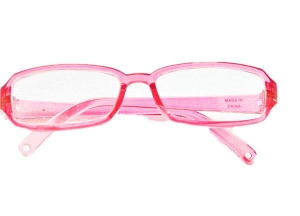 Pink Tortoise Shell Glasses for 18 Inch  American Girl Dolls
