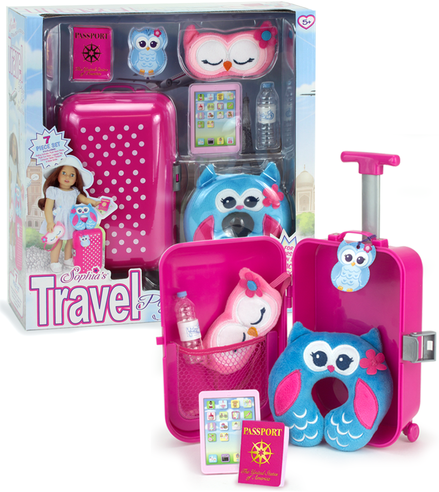 American Doll Travel Case