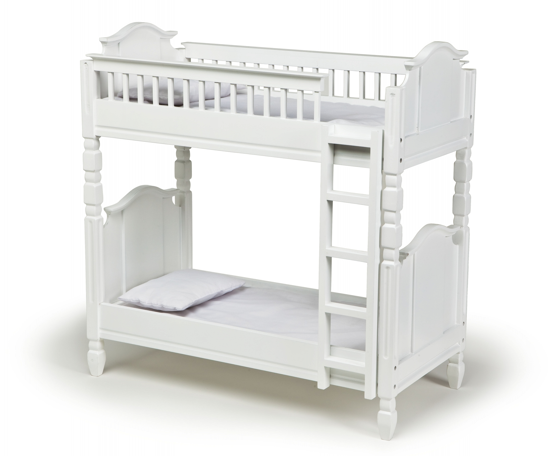 Laurent Doll 18 Inch White Bunk Bed