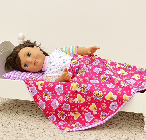 Laurent Doll 18 Inch Victorian Style Doll Bed