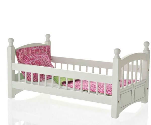Laurent Doll Single Bed For 18 Inch Dolls