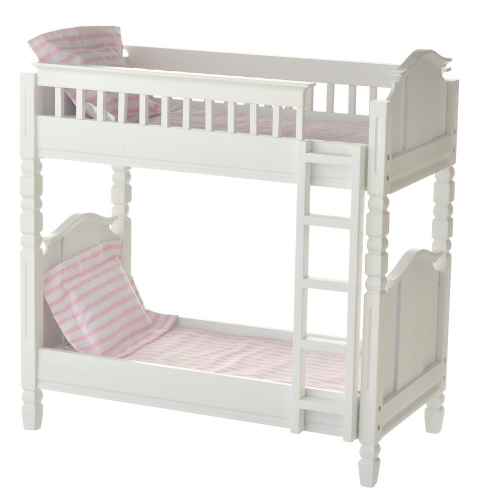 Laurent Doll 18 Inch Doll White Bunk Bed The Doll Boutique