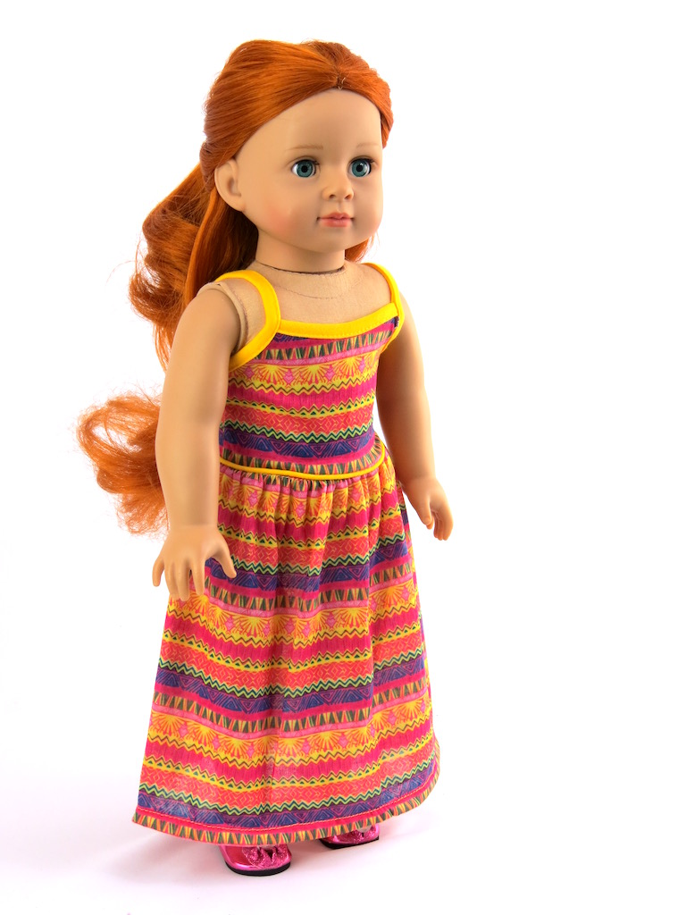 Maxi dresses for american girl doll