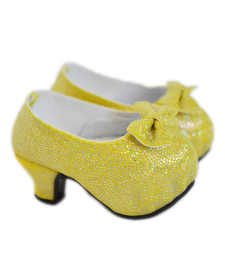 Wellie Wisher doll sparkly yellow high