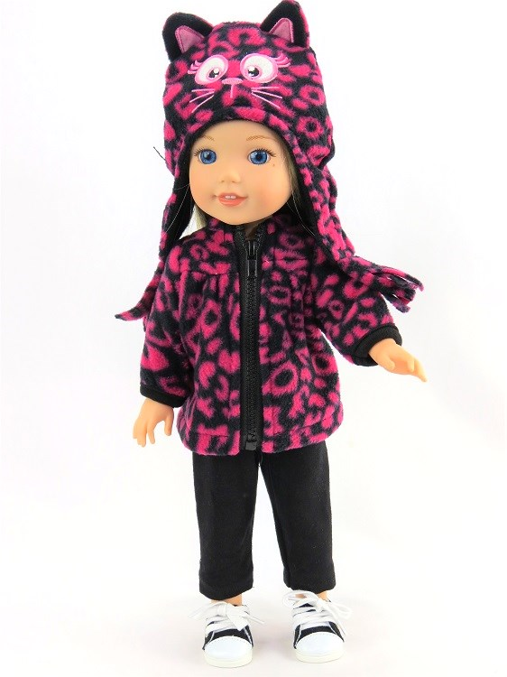 Wellie Wisher 3 Piece Pants Fleece Jacket Amp Kitty Hat