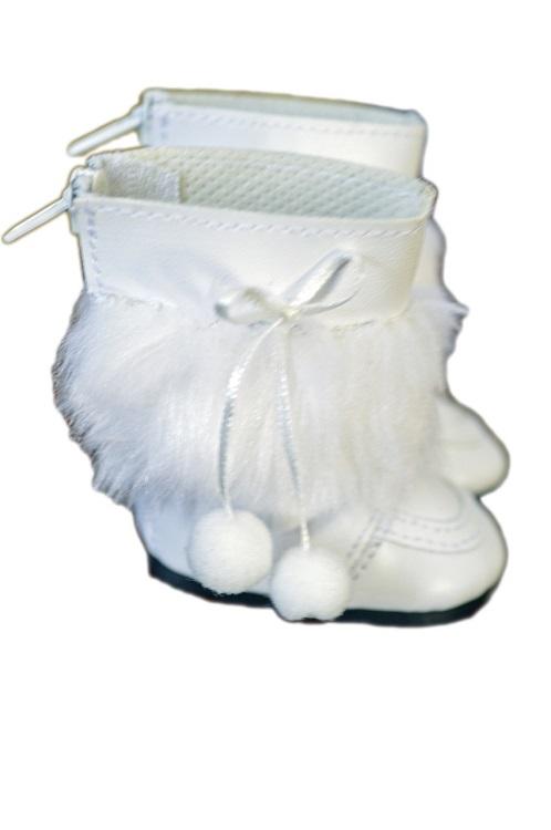 Wellie Wisher doll white snow pom-pom