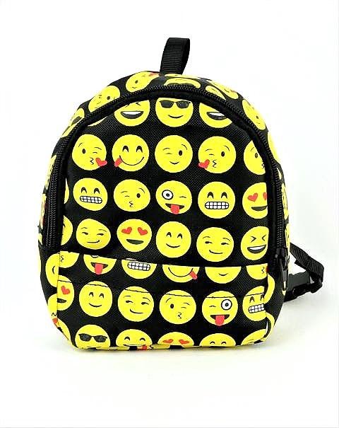 18 Inch Doll Emoji Backpack