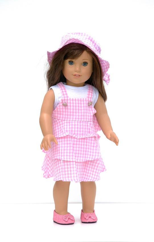 Pixie Faire Graces Gifts Versatile Variegated Doll Clothes