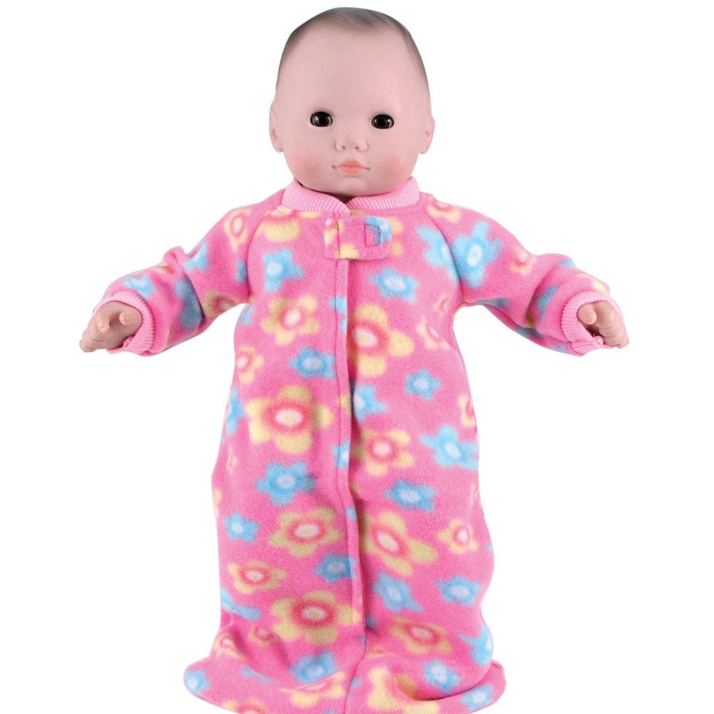 Bitty Baby Fleece Print Sleeper Sack The Doll Boutique