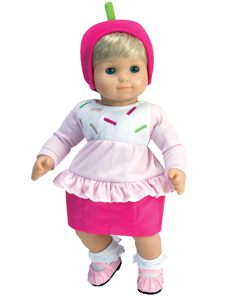 450c74065ce7 Bitty Baby Pink Cupcake Costume Outfit - The Doll Boutique