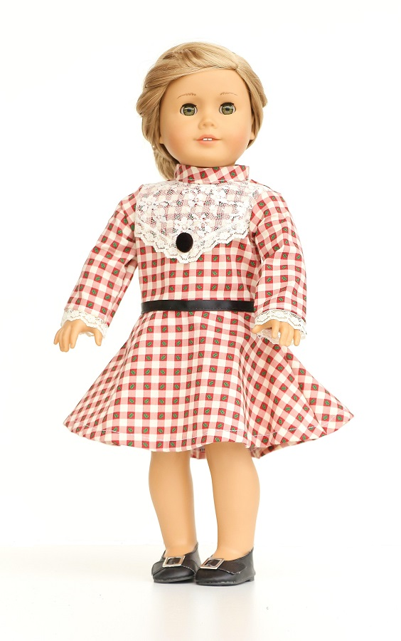 0e86bd032 Bitty Baby Red Velvet Holiday Dress Set - The Doll Boutique