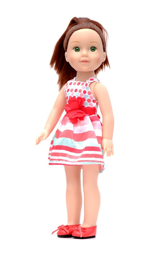 Mini Cupcake Dress Fits American Girl Wellie Wisher Doll Clothes