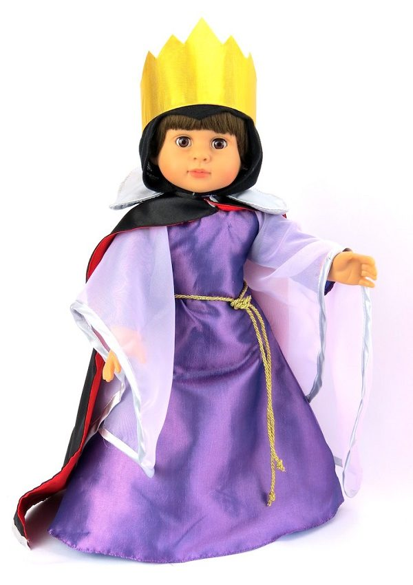 18 Inch Doll Snow White Evil Queen Costume