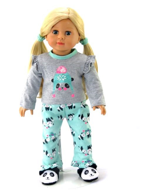"""Paris Is For Dreamers Pajamas Fits 18/"""" Amercian Girl Dolls"""