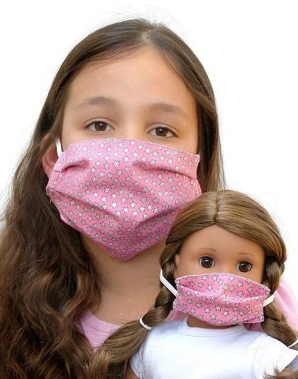 Matching Girl Doll Masks 18 American Girl Size
