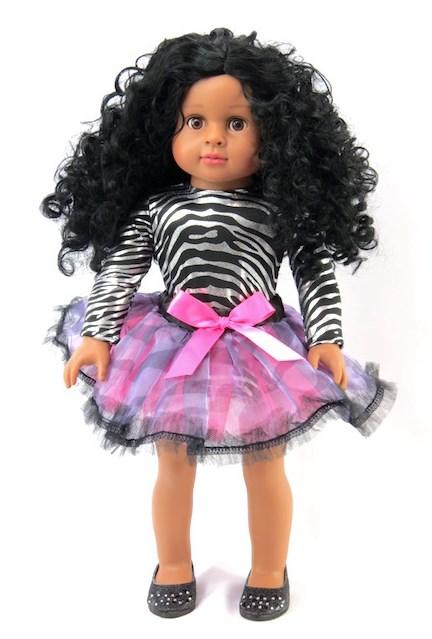18 Doll Zebra Leotard Dance Outfit