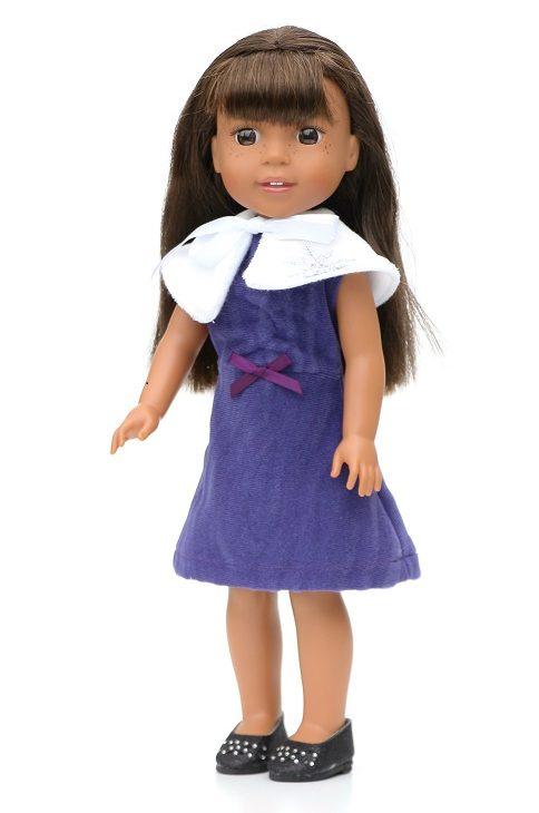 14.5 Wellie Wisher Purple Party Dress Shrug