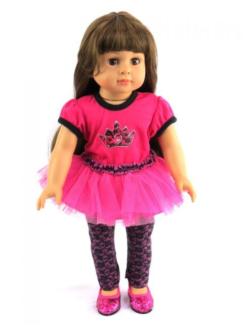 18 Doll Princess Lace Legging Outfit