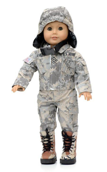18 Doll U.s. Army Uniform