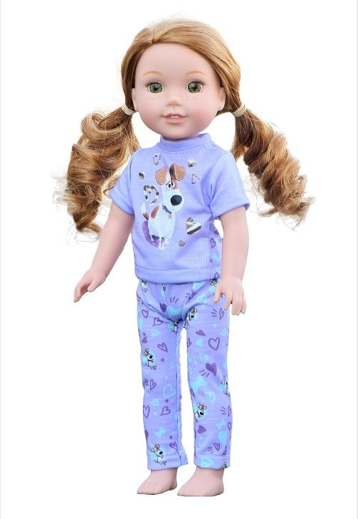 14.5 Wellie Wisher Doll Secret Life Of Pets Inspired Pjs 1
