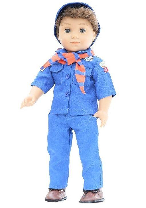 18 Doll Cub Scout 4 Piece Outfit Uniform