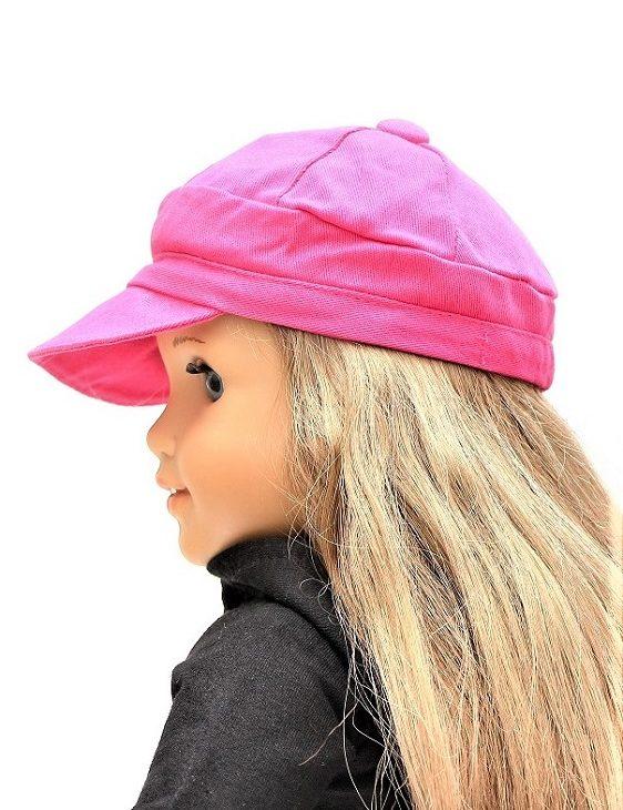 18 Doll Hot Pink Bill Cap