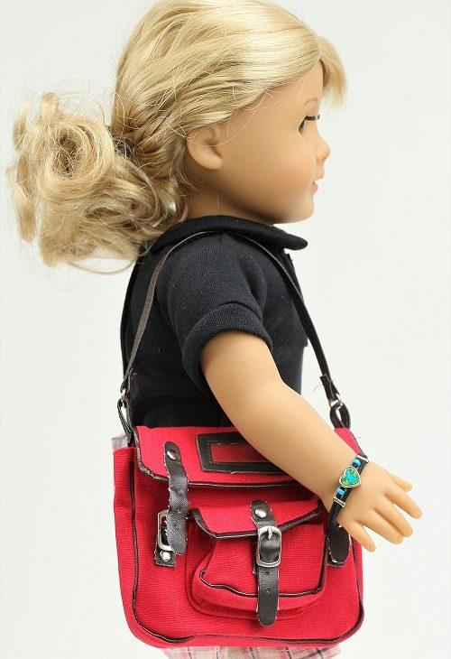 Doll Red Bookbag