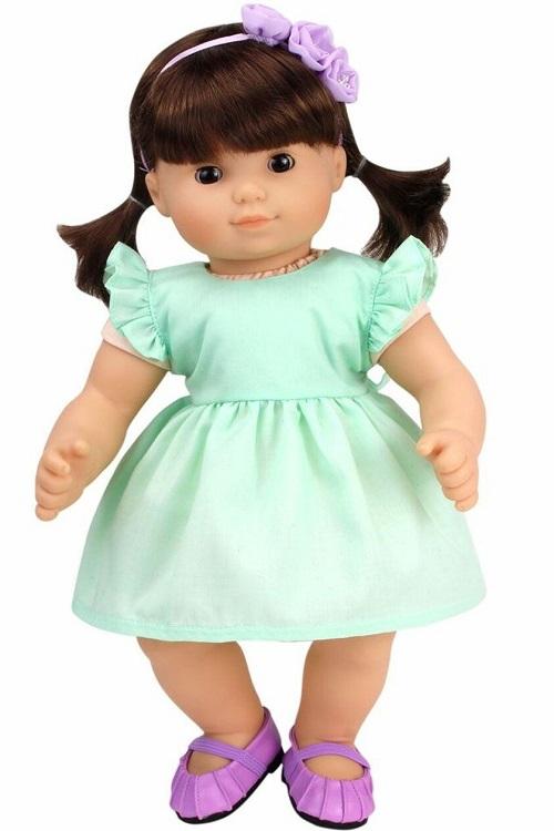 15 Bitty Baby Doll Mint Spring Dress Headband