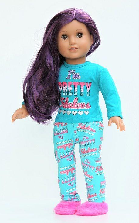 18 Doll Im Pretty Fabulous Pajamas